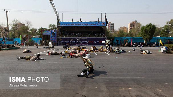 Son dakika: İran'da askeri törene terör saldırısı! Çok sayıda ölü ve yaralı var