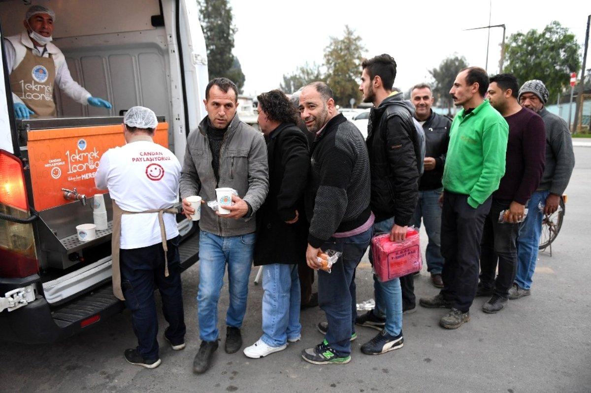 1 Ekmek 1 Çorba projesi, haftada 3 bin vatandaşa ulaştı