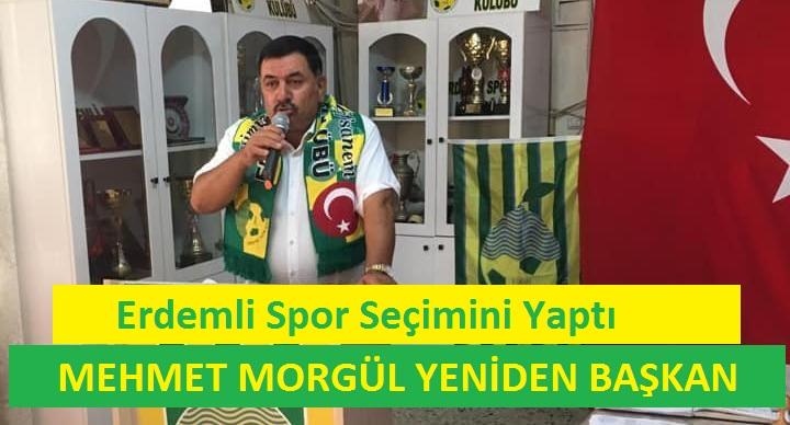 Efsane Başkan Mehmet Morgül Yeniden Başkan