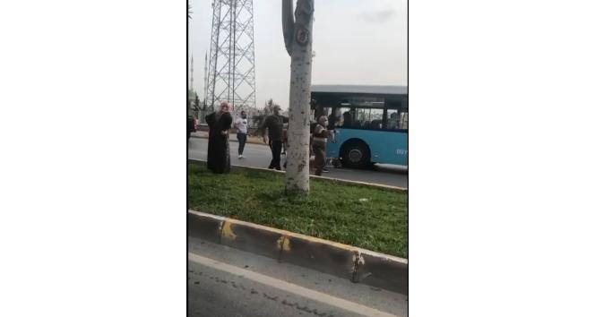 Belediye otobüsünün çarptığı kadın hayatını kaybetti