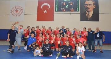 Mersin Büyükşehir Belediyesi GSK Kadın Hentbol Takımı, şampiyonluğu garantiledi