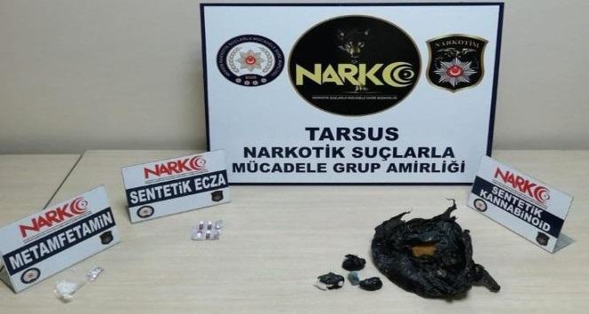 Mersin'de uyuşturucu operasyonunda 4 tutuklama