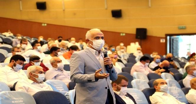 Başkan Gültak, mecliste kentsel dönüşüme destek istedi