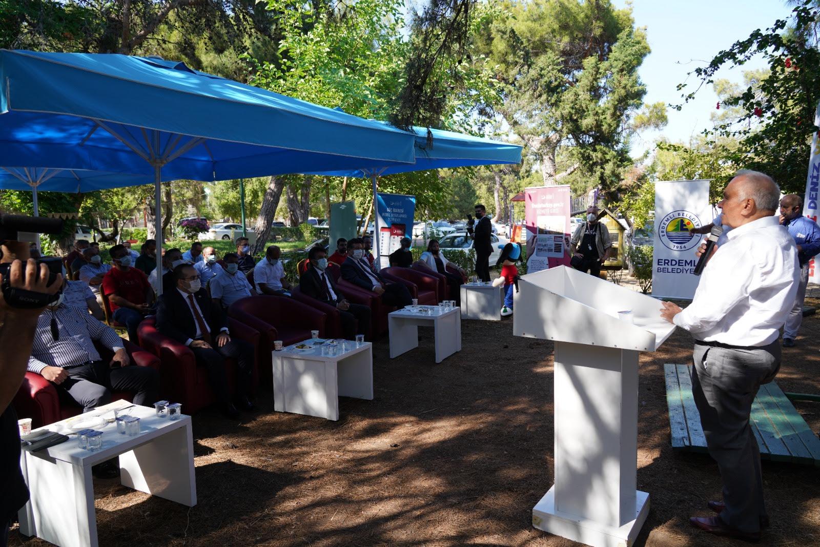 Mülteciler Uyum Toplantısı Erdemli 'de Yapıldı