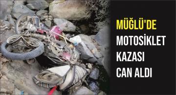 Müğlü'de Motosiklet Kazası Can Aldı