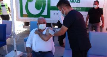 Aşureli aşı kampanyası