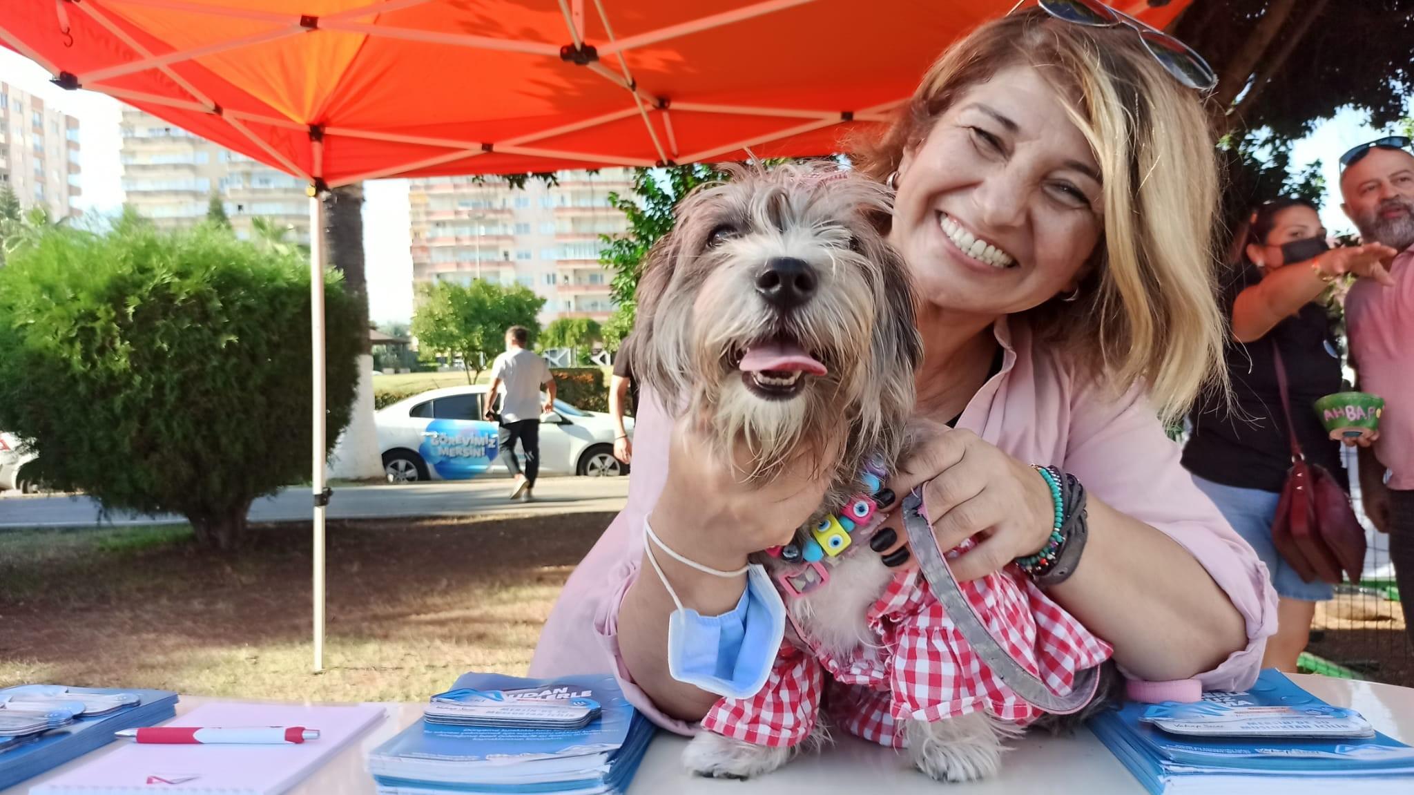 Hayvan severler Pati Fest'te eğlenceli anlar yaşadı